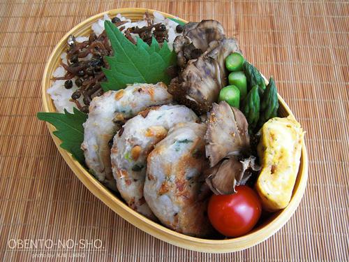 里芋の薩摩揚げ風弁当01