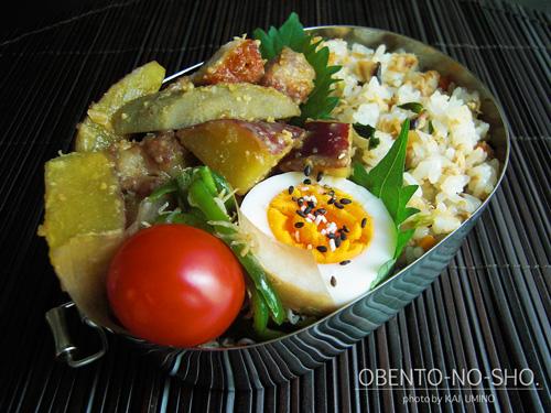 さつま芋と豚バラのみそ煮01