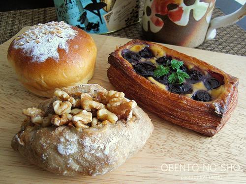 ブーランジェリーグリュのパン
