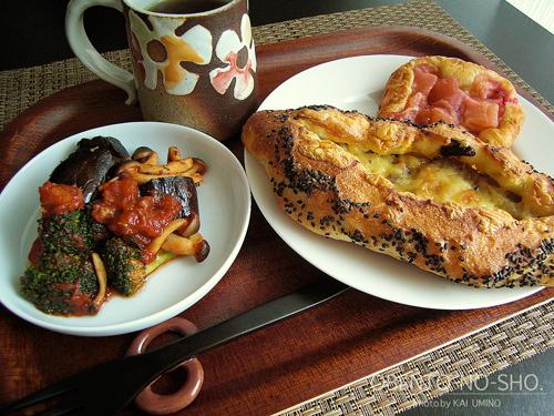 ラ・テールのパンのおウチご飯