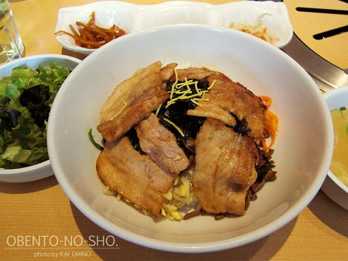 サムギョプサル丼