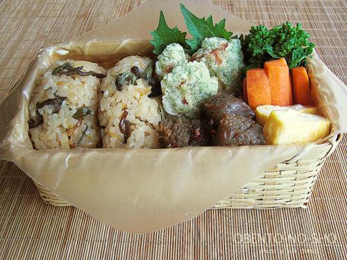 山菜おむすび弁当02