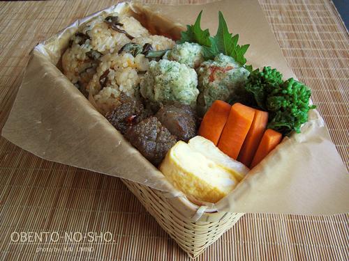 山菜おむすび弁当01