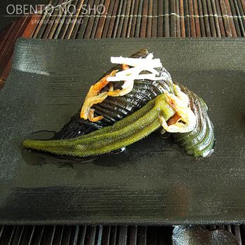 茄子とオクラの煮浸し