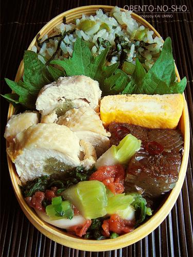 ふきの鶏肉巻き弁当03