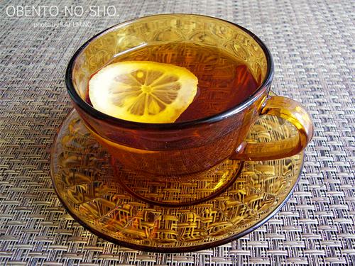 セピアガラスのカップ&ソーサー