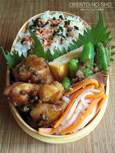 鶏の青山椒焼き弁当02