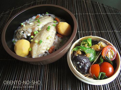 サムゲタン風鶏粥弁当01