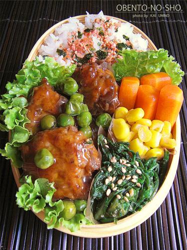 こんにゃく入り肉団子の黒酢餡かけ02