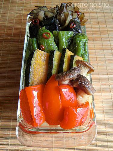 夏野菜の揚げ浸し冷おろしうどん02