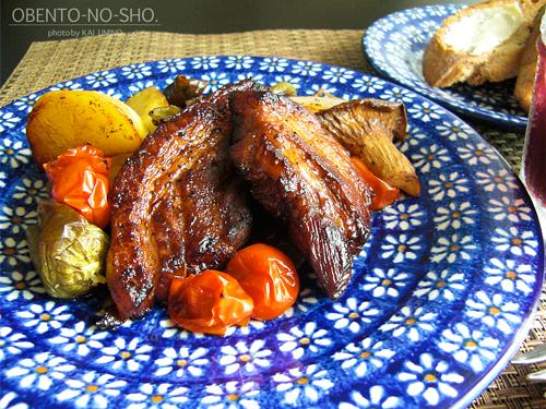 スペアリブのバルサミコ焼きのおウチご飯02