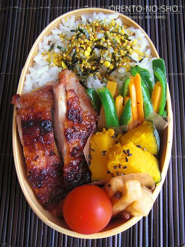 鶏の味噌漬け弁当02