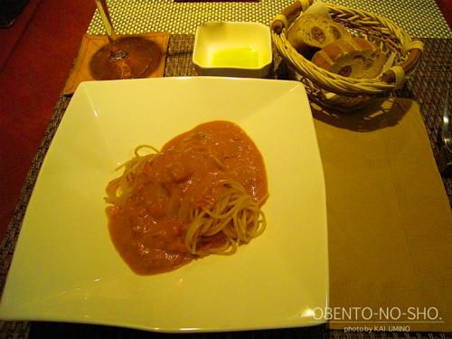 ファゴット@相模大野*生ウニのトマトクリームスパゲッティ