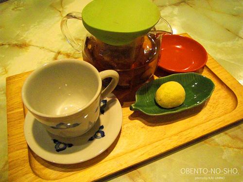 菊花&プーアル茶