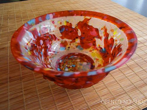 瑠璃ガラスな金魚