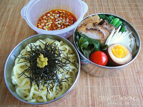手作り叉焼つけ麺弁当01