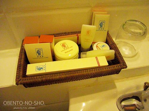 サイゴンホテルのアメニティ