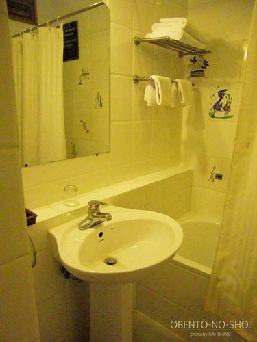 サイゴンホテルのシャワールーム