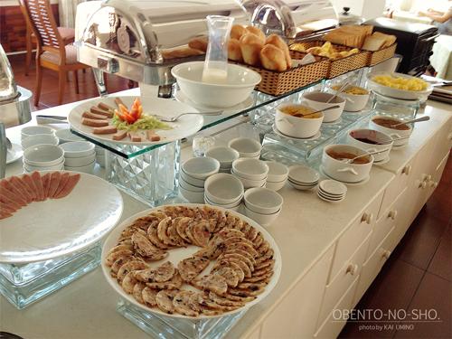 朝食バイキング@サイゴンホテル
