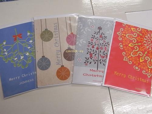 ヤスミンカ2013クリスマスカード