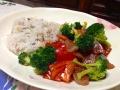 イナダ野菜丼