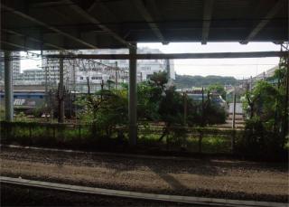 新川崎で電気機関車