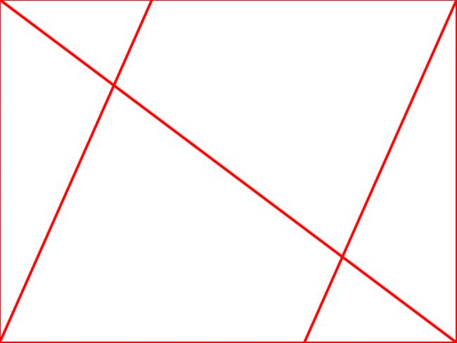 Triangle Thirds
