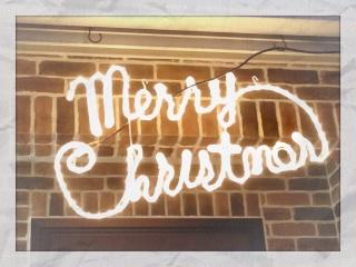 2013.11.24イルミネーション④メリークリスマス