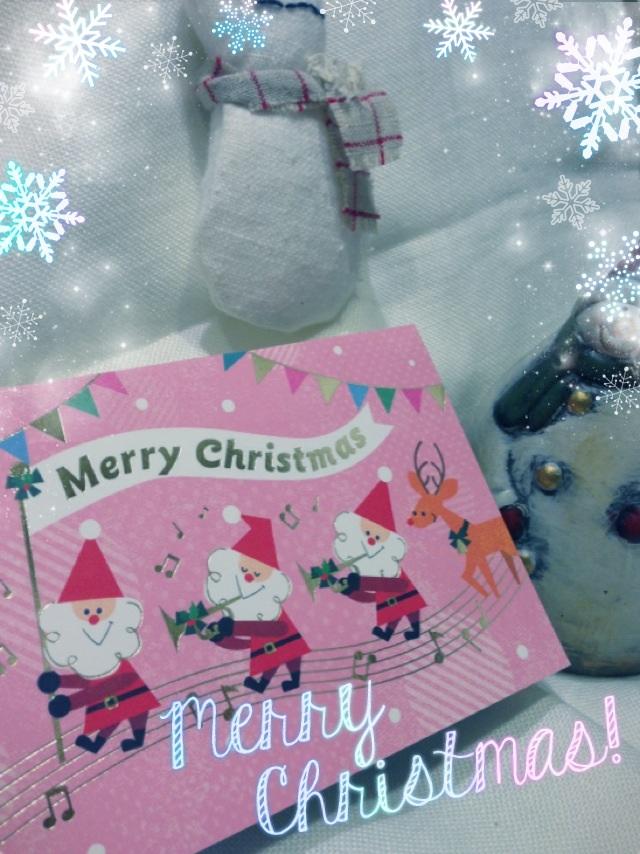 2013.12.19クリスマスカード①