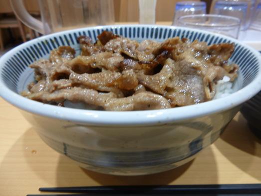 東京チカラめしメニュー元祖焼き牛丼特盛り007