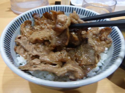 東京チカラめしメニュー元祖焼き牛丼特盛り008