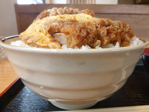 群馬県伊勢崎市デカ盛り大松食堂カツ丼大盛り020