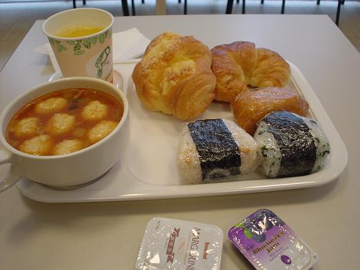 コンフォートホテル東京神田朝食バイキング食べ放題無料003