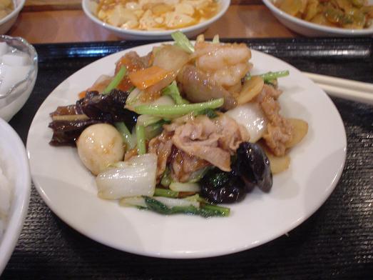 台湾料理の百楽門はランチバイキングで惣菜食べ放題006