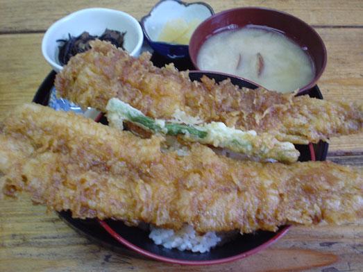 木更津名物あなごかもめ食堂で穴子天丼定食004
