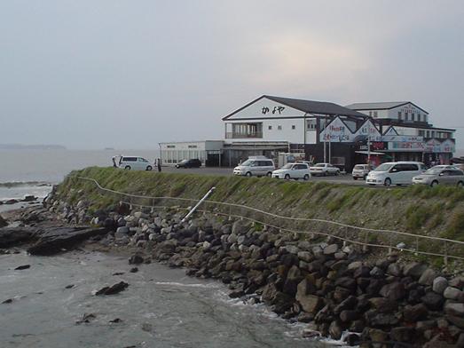 東京湾富士山が見える天然温泉海辺の湯の食堂020