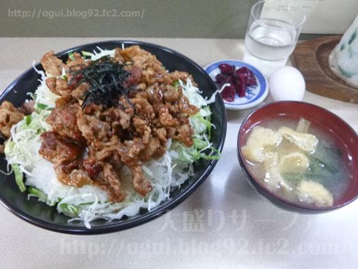 野田けやき食堂でけやき丼の特特盛り026