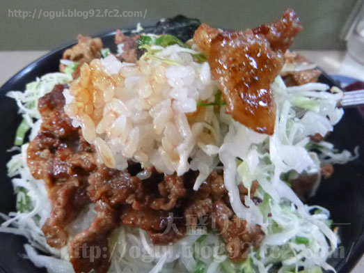 野田けやき食堂でけやき丼の特特盛り027