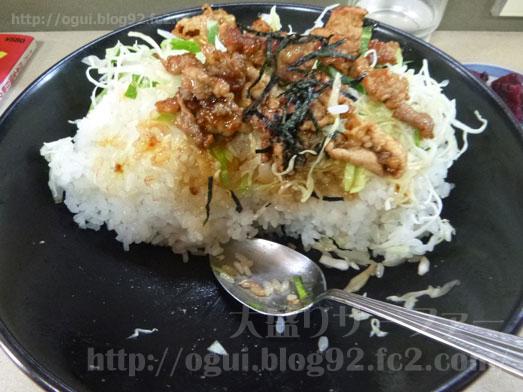 野田けやき食堂でけやき丼の特特盛り029