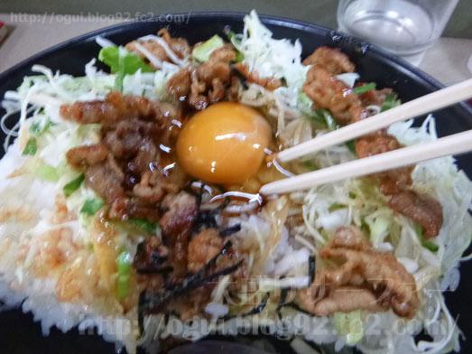 野田けやき食堂でけやき丼の特特盛り030