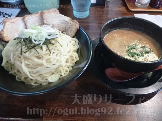 らーめん神月麺3玉増量無料で濃厚味噌つけ麺014