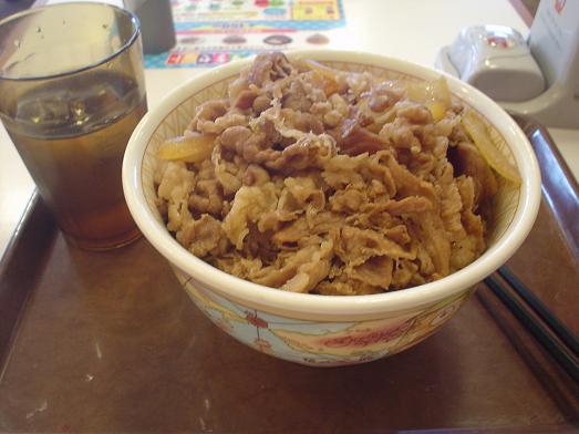 すき家で牛丼メガ盛り値下げキャンペーン012