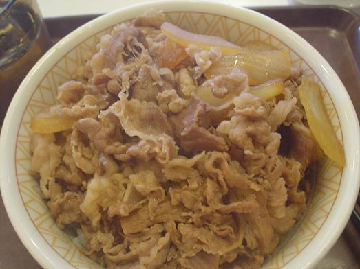 すき家で牛丼メガ盛り値下げキャンペーン015