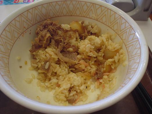 すき家で牛丼メガ盛り値下げキャンペーン016