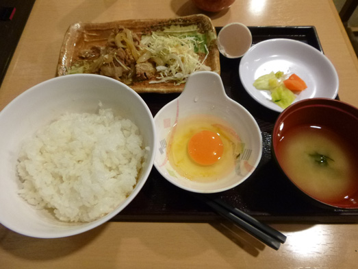 秋葉原卵かけご飯たまごん家Oh!Saka Barランチ017