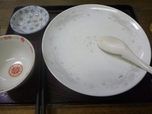 神田神保町徳萬殿のチャーハン大盛り013
