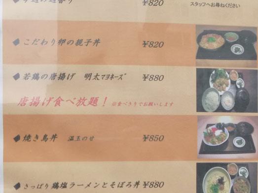 新橋虎ノ門ランチ鶏どりで唐揚げ食べ放題006