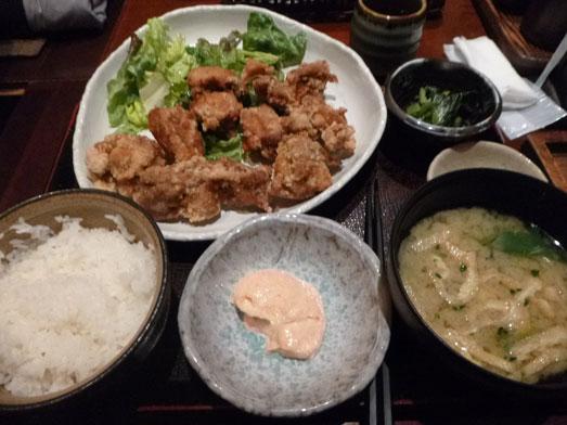 新橋鶏どり虎ノ門店でランチ唐揚げ食べ放題020