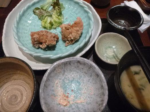 新橋鶏どり虎ノ門店でランチ唐揚げ食べ放題026