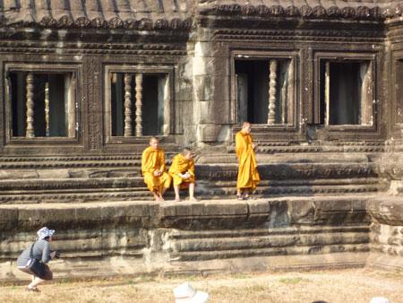 カンボジアにて